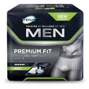 Tena Men Premium Fit Large incontinentie broekjes pak a 10st