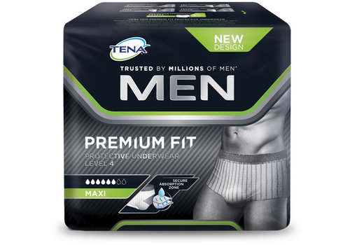 Men Premium Fit Large incontinentie broekjes pak a 10st