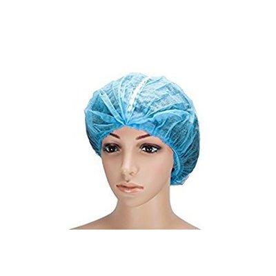 Medi-Inn Detecteerbare haarnetjes 53cm spinvlies blauw 100 stuks