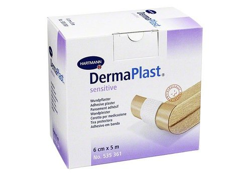wondpleister rol Dermaplast Sensitive 5m x 6cm