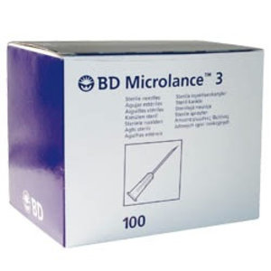 BD Microlance injectienaald 100st