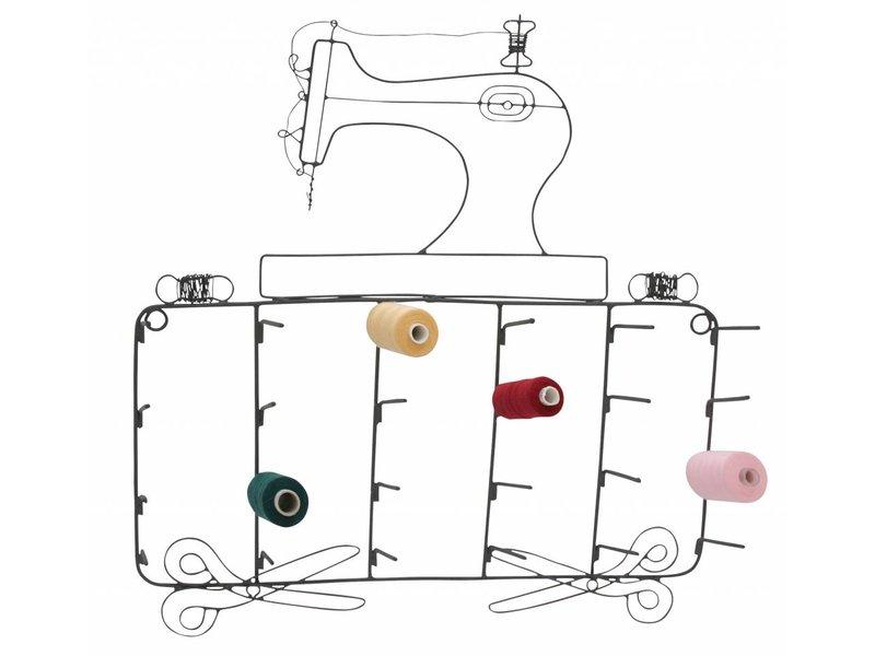 Krasilnikoff Garnrollenhalter Sewing machine noteboard