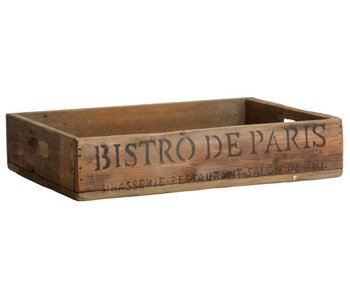 "IB LAURSEN Tablett ""Bistro de Paris"""