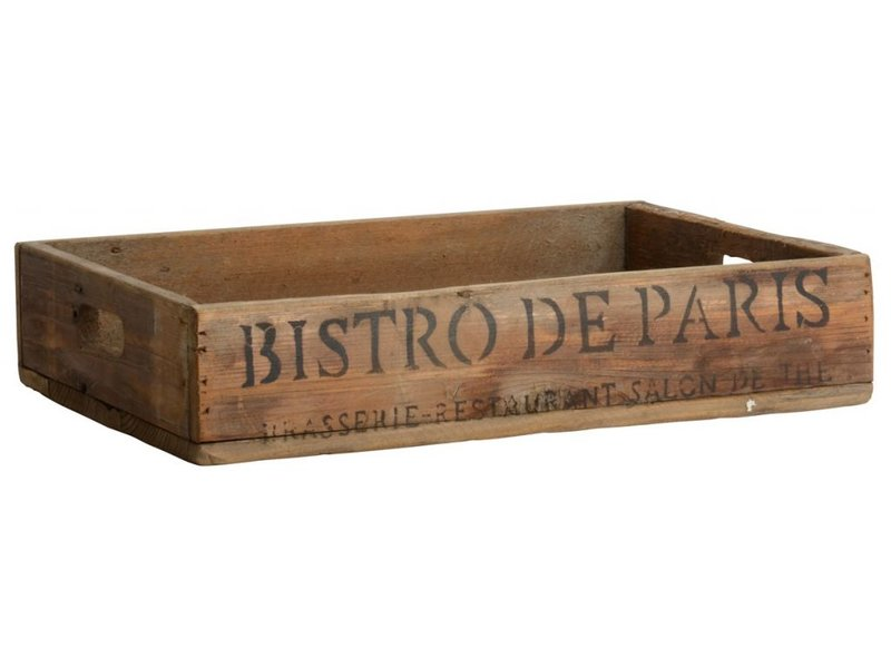 "IB LAURSEN Tablett ""Bistro de Paris"""