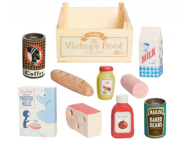 "Maileg Hasen Lebensmittel ""Vintage Food"" Kiste"
