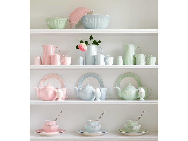 "GreenGate Essteller ""Dinner plate Alice"" pale pink"