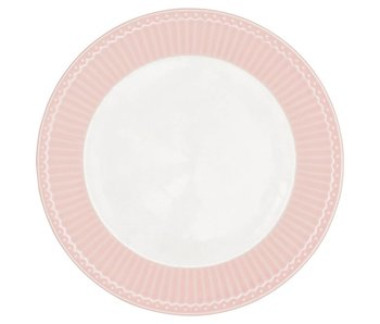 "GreenGate Essteller ""Dinner plate Alice"" pale pink"