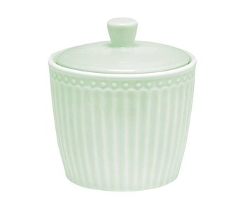"""GreenGate Zuckerdose""""Sugar pot Alice"""" pale green"""