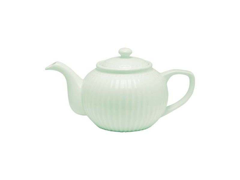 "GreenGate Teekanne ""Teapot Alice"" pale green"