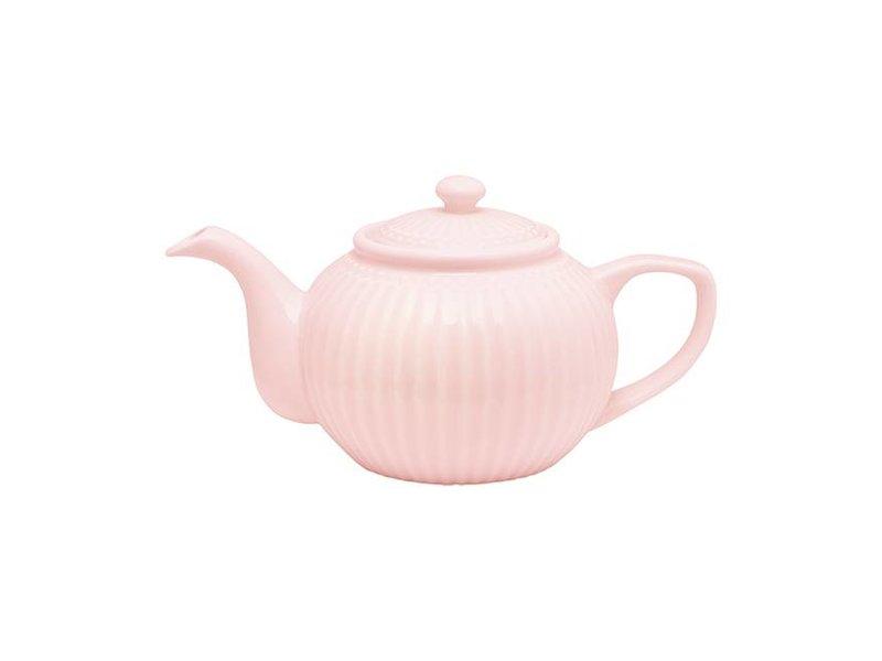 "GreenGate Teekanne ""Teapot Alice"" pale pink"