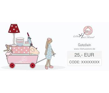 LilleHus Store 25 EUR Gutschein