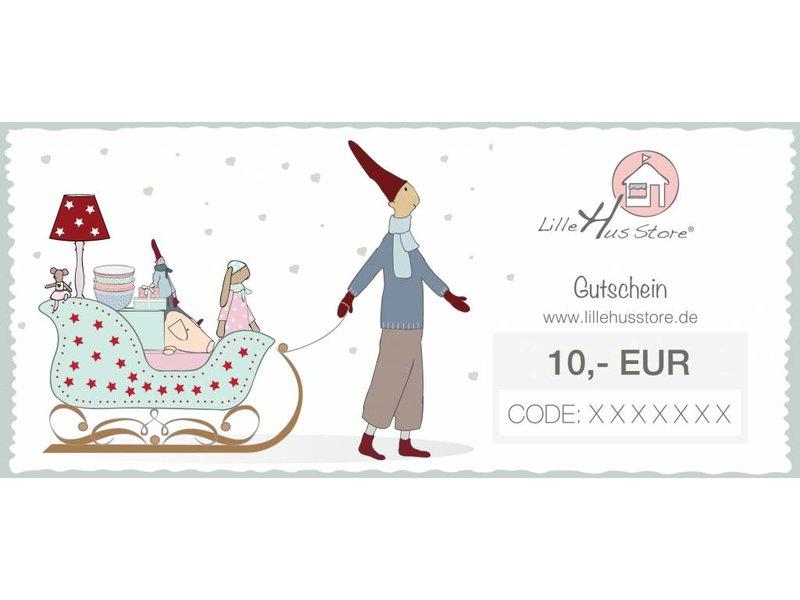 LilleHus Store 10 EUR Gutschein Winter