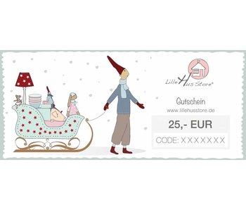 LilleHus Store 25 EUR Gutschein Winter