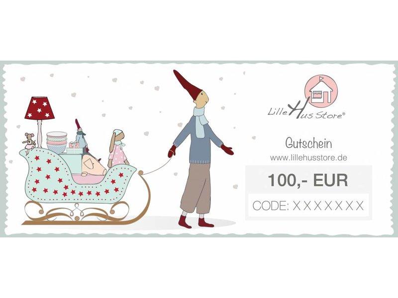 LilleHus Store 100 EUR Gutschein Winter