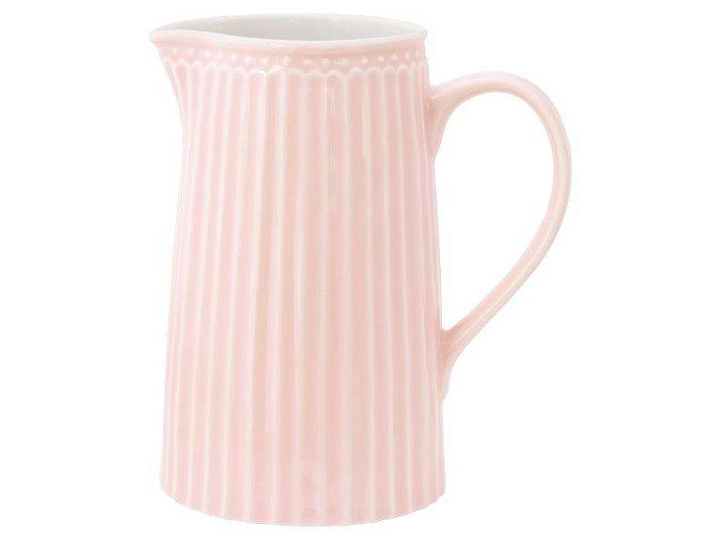 "GreenGate Krug ""Jug Alice"" pale pink 1L"