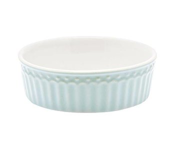 "GreenGate Ofenform ""Pie dish Alice"" pale blue S"