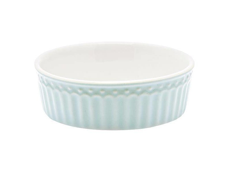 "GreenGate Ofenform ""Pie dish Alice"" pale blue S"