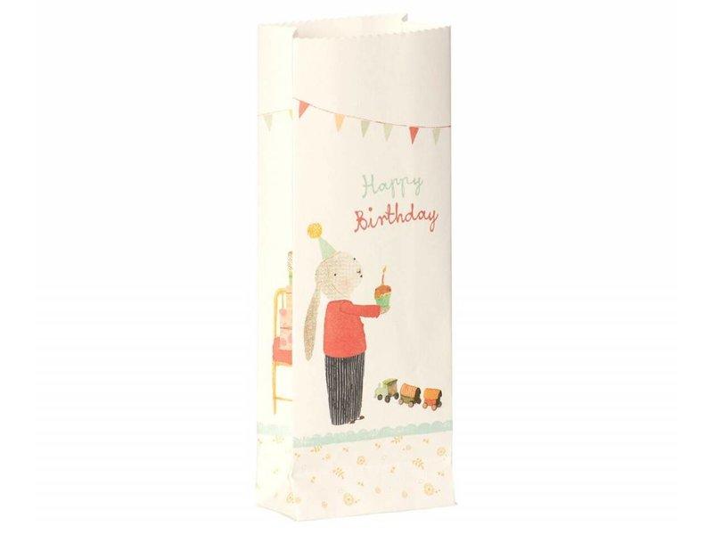"""Maileg Papiertüten """"Happy Birthday"""" 12 Stk."""