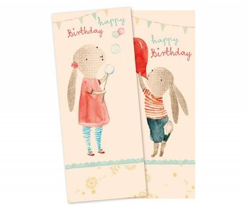 "Maileg Geburtstag-Servietten ""Happy Birthday"" Hase"