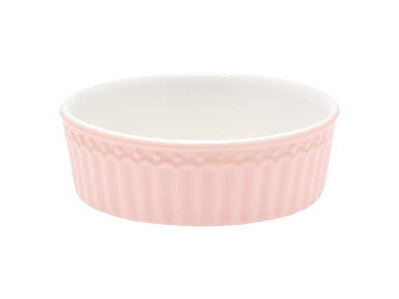 "GreenGate Ofenform ""Pie dish Alice"" pale pink S"