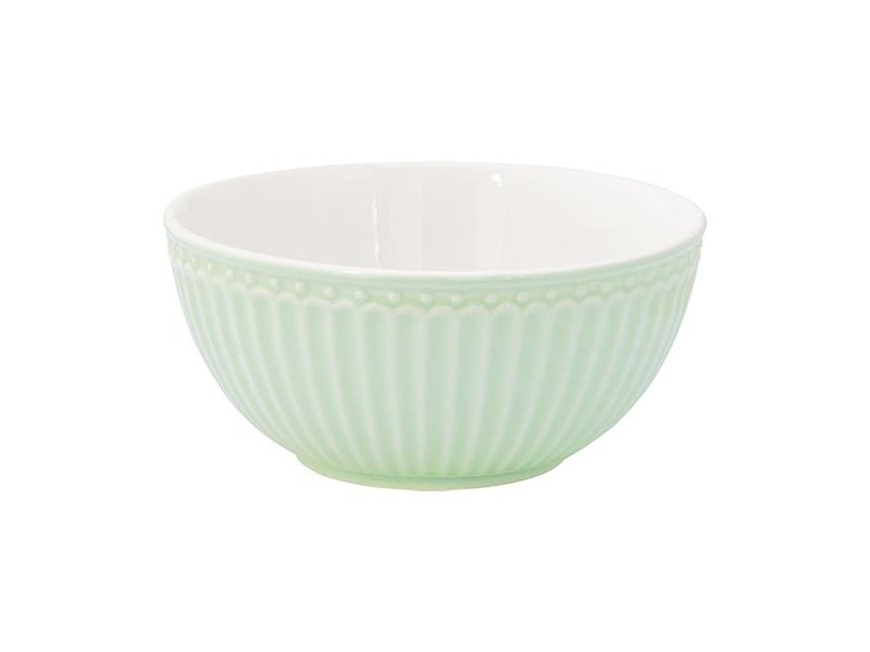 "GreenGate Schüssel ""Cereal bowl Alice"" pale green"