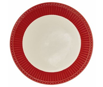 "GreenGate Essteller ""Dinner plate Alice"" red"