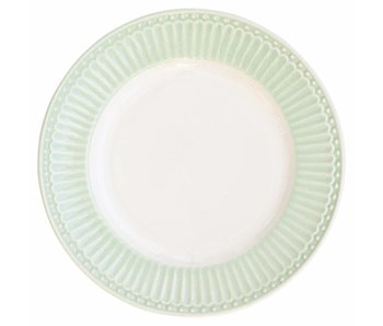 "GreenGate Essteller ""Dinner plate Alice"" pale green"