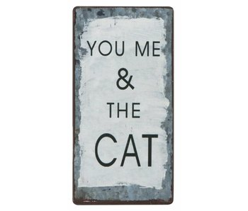 "IB LAURSEN Magnet ""You me & the Cat"""