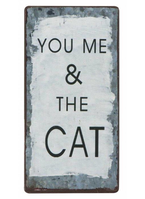 "IB LAURSEN Magnet ""You me & the Cat"""