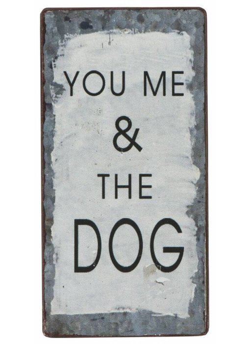 "IB LAURSEN Magnet ""You me & the Dog"""
