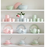 """GreenGate Becher """"Latte cup Alice"""" pale green"""
