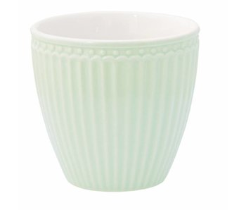 "GreenGate Becher ""Latte cup Alice"" pale green"