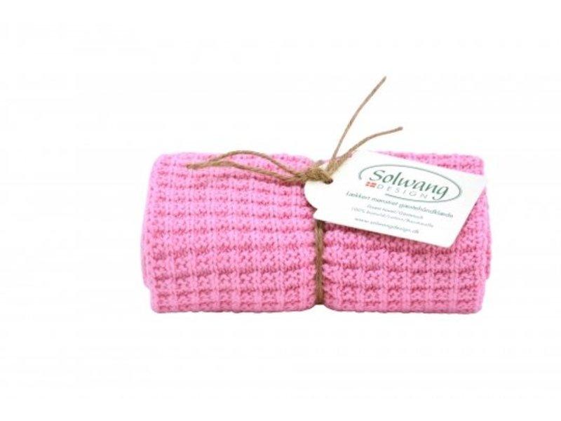 "Solwang ""Handtuch"" warmes rosa, 1 Stück"