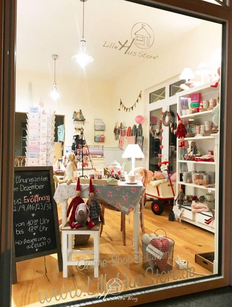 LilleHus Store Laden & Café Eröffnung