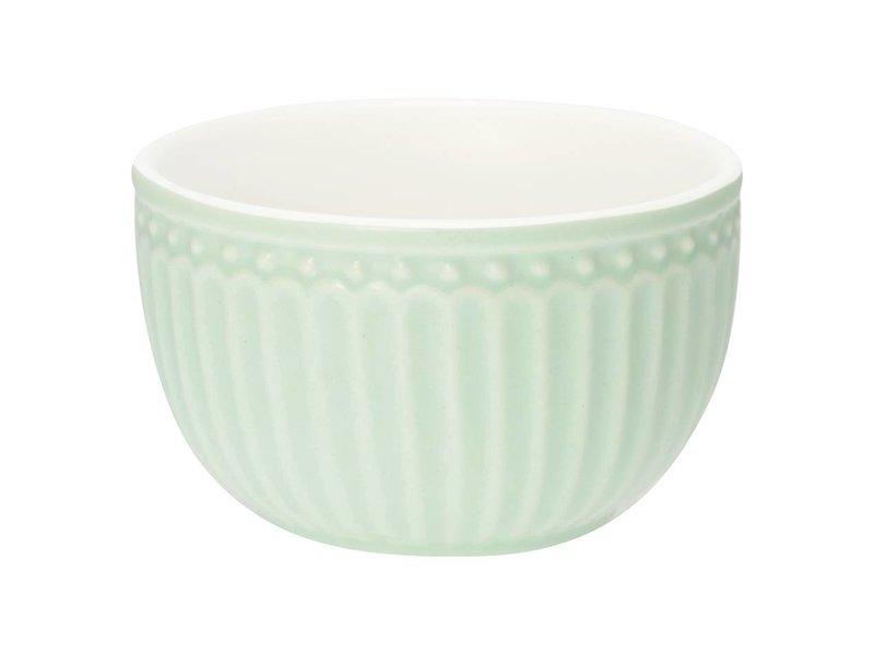 """GreenGate Mini bowl """"Alice"""" pale green"""