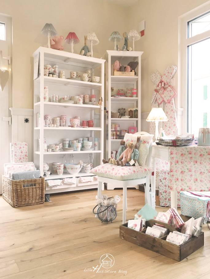 wohnideen deko wandgestaltung im landhausstil shabby chic lillehus store. Black Bedroom Furniture Sets. Home Design Ideas