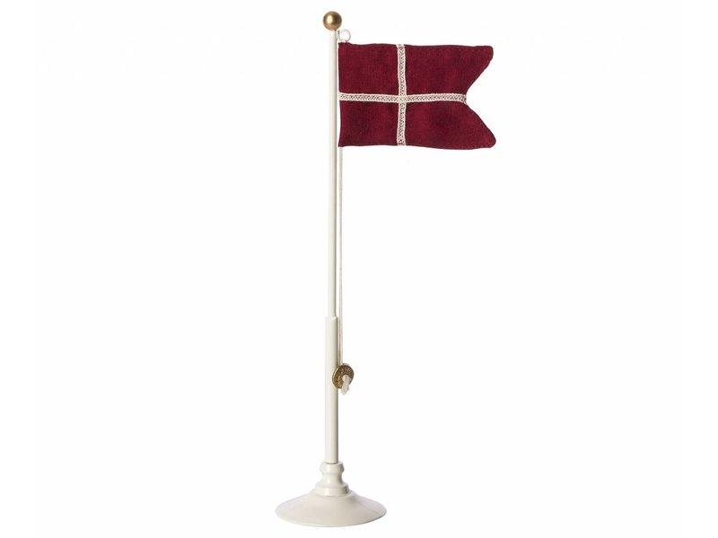 """Maileg Dänische """"Flagge"""" mit Fahnenstange, 25,5 cm"""