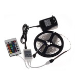 RGB LED strip 5m incl. Remote