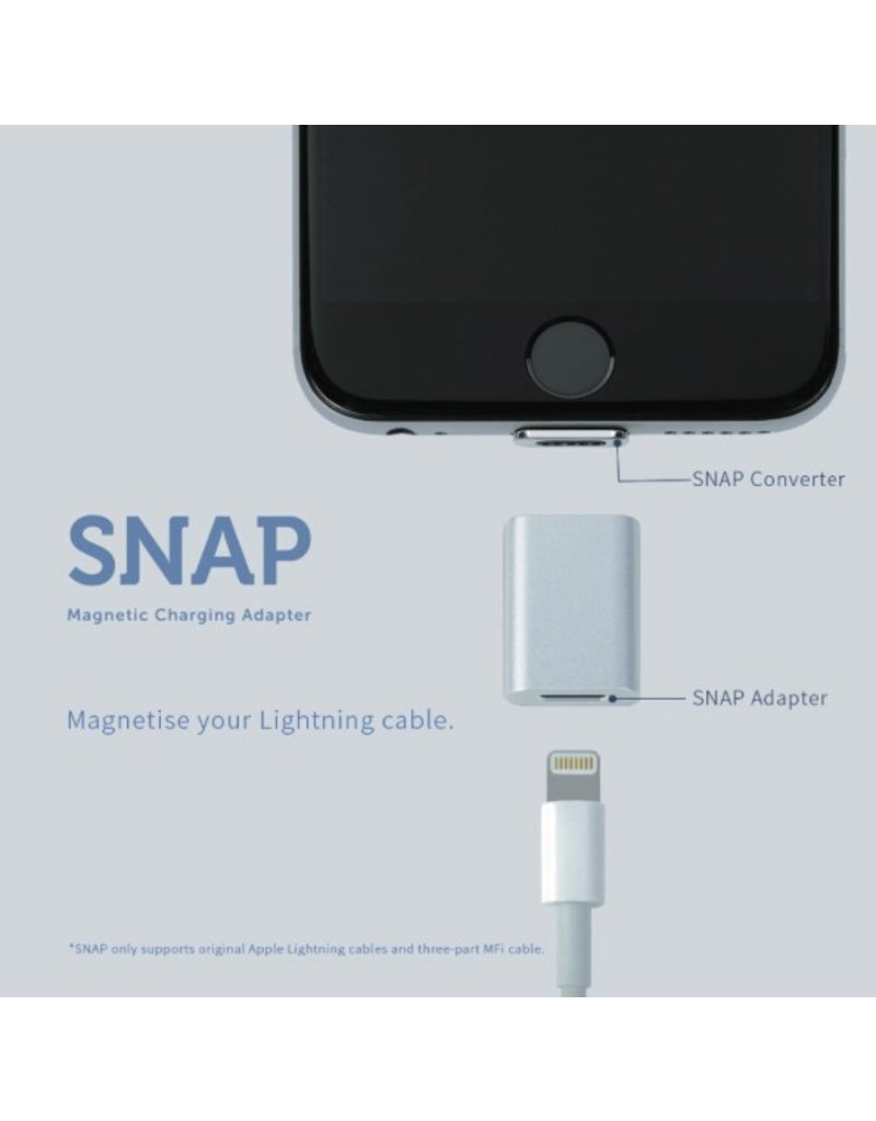 Magnetic iPhone charger