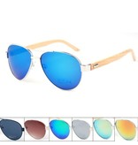 Bamboo houten zonnebril