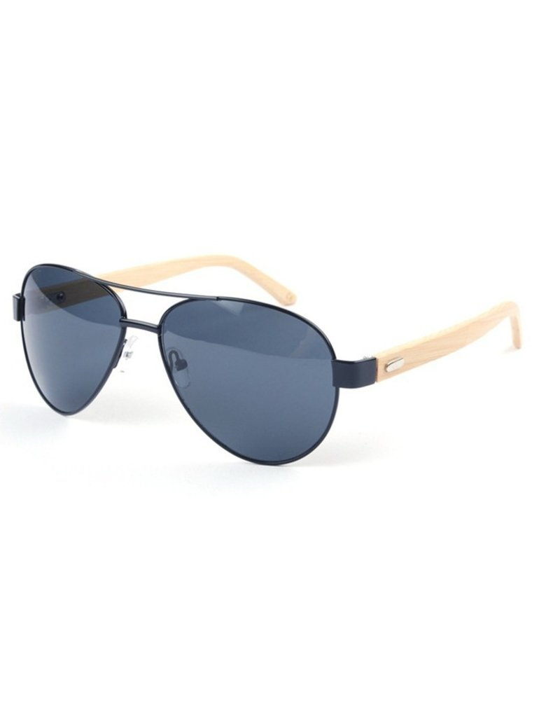 Wooden sunglasses sunglasses bamboo indispensable for extremely sunny days