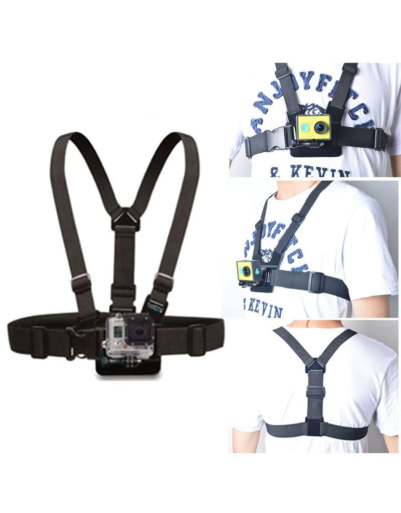 GoPro strap chest mount