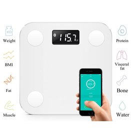 Bluetooth Libra / Bathroom scale with app and bluetooth