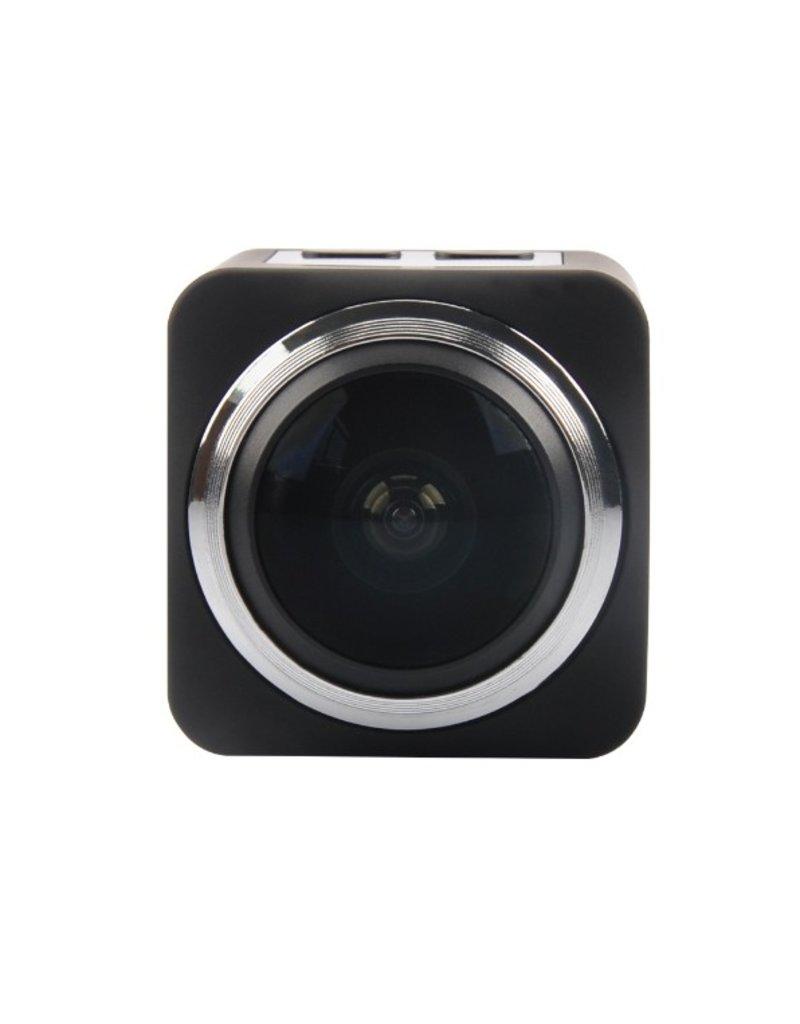 360 graden camera zwart
