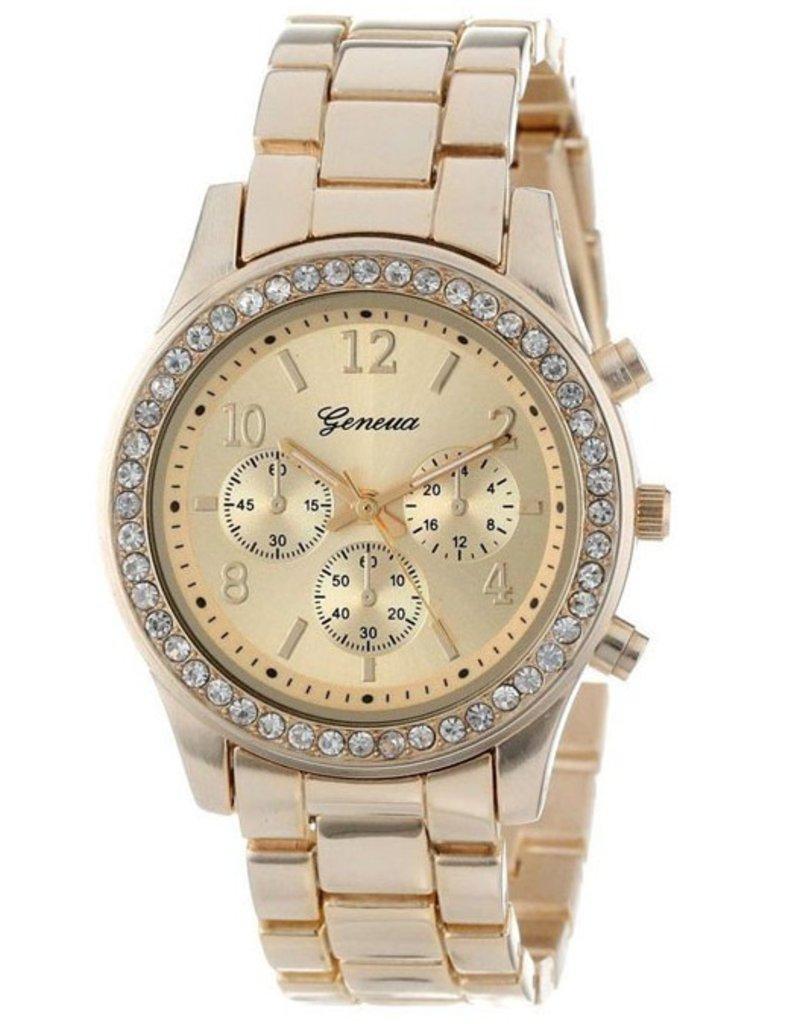 Geneva diamant horloge