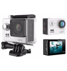 Caméra d'action avec un objectif grand angle