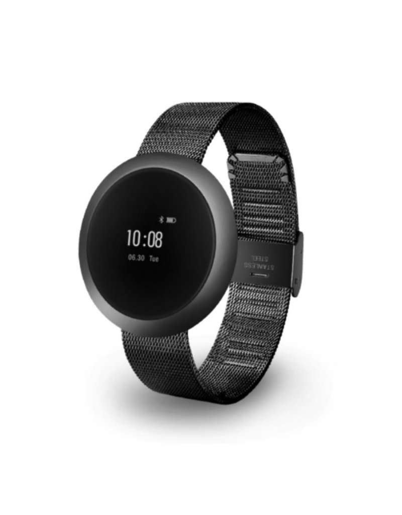 Activity Tracker with steel strap