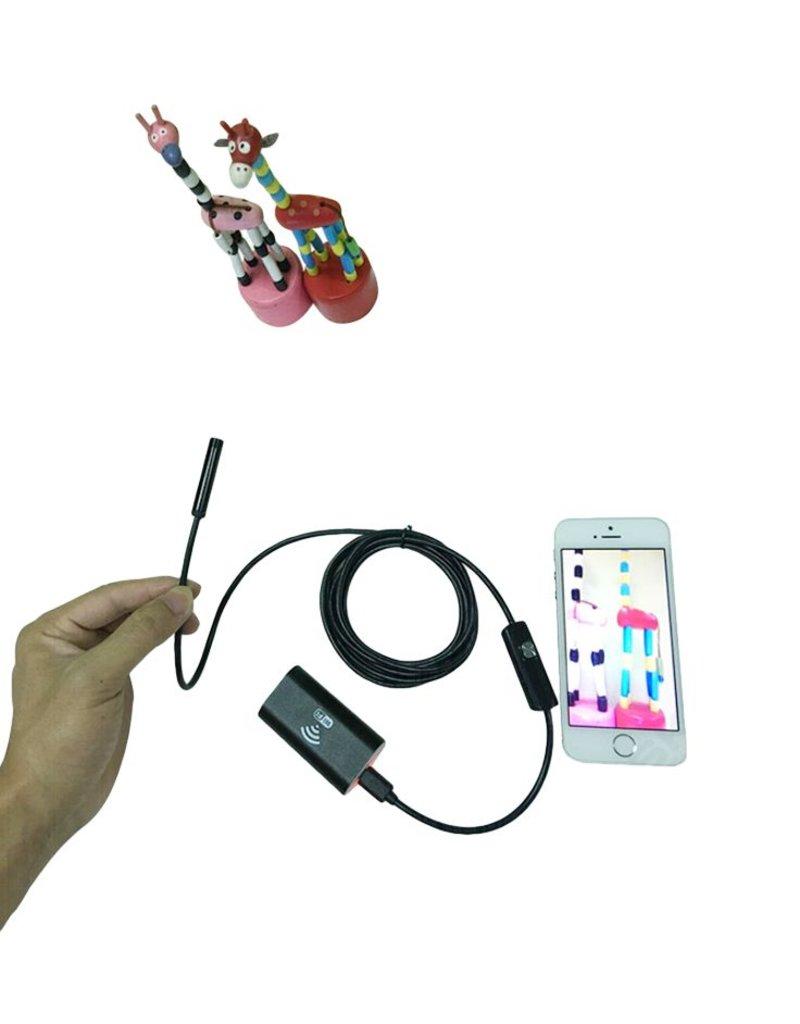Wifi Endoskop – mit Kabel von 1, 2 oder 5 m