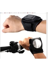Bicycle mirror for around your wrist