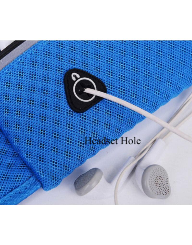Harte Laufband mit Taschen - Hüfttasche für den Sport